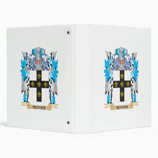 Neaves Coat of Arms - Family Crest 3 Ring Binder