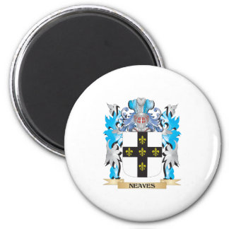 Neaves Coat of Arms - Family Crest Magnets