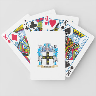Neaves Coat of Arms - Family Crest Playing Cards