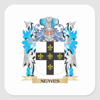 Neaves Coat of Arms - Family Crest Sticker
