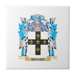 Neaves Coat of Arms - Family Crest Tile