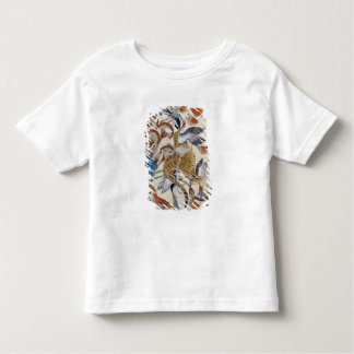 Nebamun hunting in the marshes with his wife toddler t-shirt