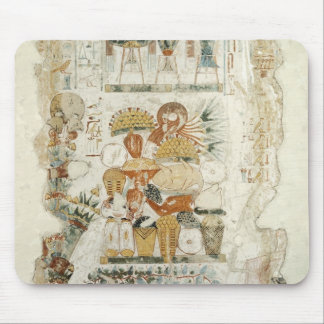 Nebamun receiving offerings from his son mouse pad