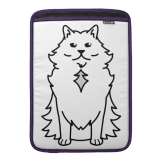 Nebelung Cat Cartoon Sleeves For MacBook Air