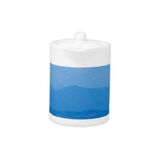 Neblina azul Layers.jpg de los picos gemelos de
