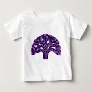 Neblina de la púrpura del árbol de Oakland Playera Para Bebé