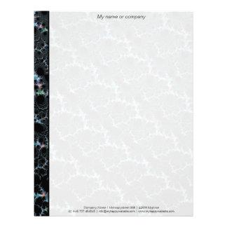 Neblina - fractal de Mandelbrot Plantilla De Membrete