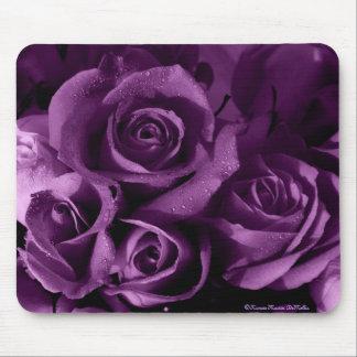 Neblina-Mousepad púrpura Tapete De Raton
