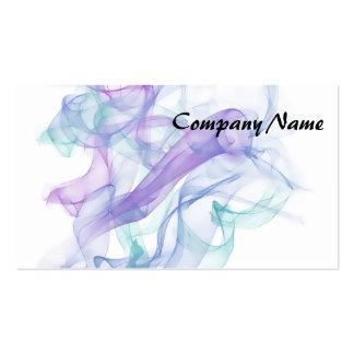 Neblina púrpura abstracta tarjeta de visita