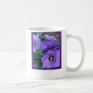 Neblina púrpura - descensos de rocío taza