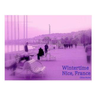 Neblina púrpura - Niza Francia Postales