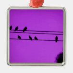 neblina púrpura ornamente de reyes
