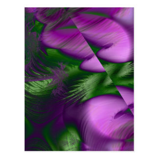 Neblina púrpura postal