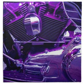 Neblina púrpura servilletas de papel