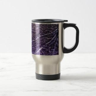 Neblina púrpura taza de viaje