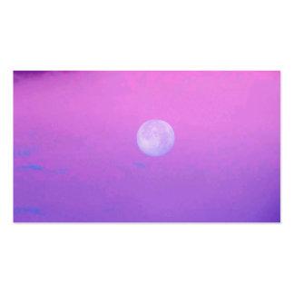 Neblina rosada tarjetas de visita