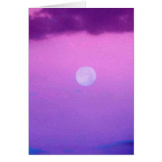 Neblina rosada tarjeton