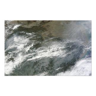 Neblina sobre China Foto