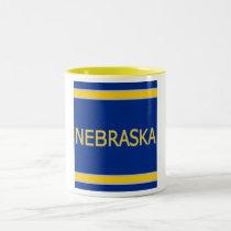 Nebraska 11 oz Two-Tone Mug