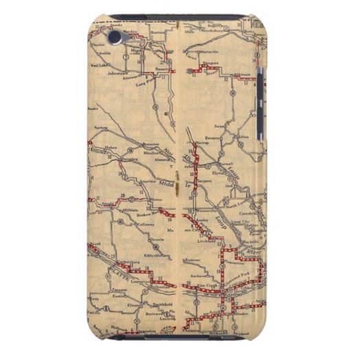 Nebraska 2 iPod touch protectores