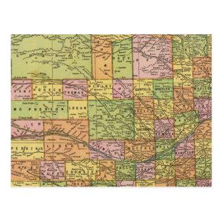 Nebraska 2 tarjetas postales