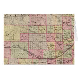 Nebraska 3 tarjeta de felicitación