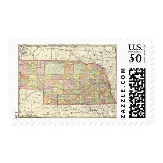 Nebraska 4 postage