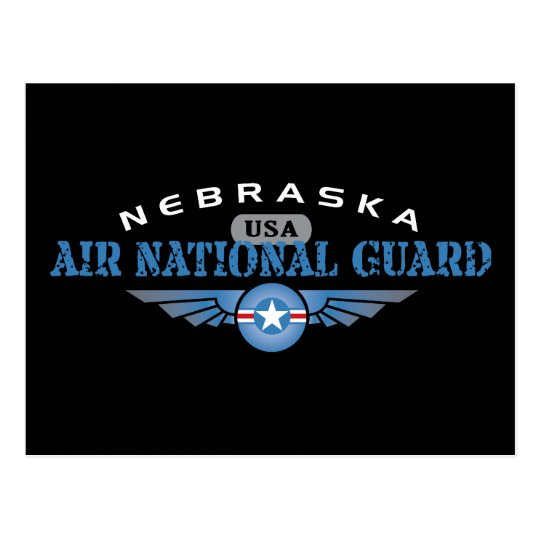 Nebraska Air National Guard Postcard