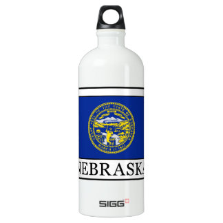 Nebraska Aluminum Water Bottle