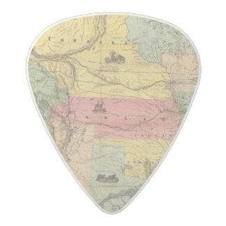 Nebraska and Kansas 2 Acetal Guitar Pick