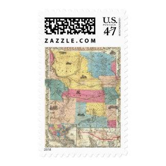 Nebraska and Kansas 3 Postage