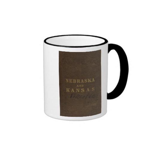 Nebraska and Kansas Ringer Coffee Mug