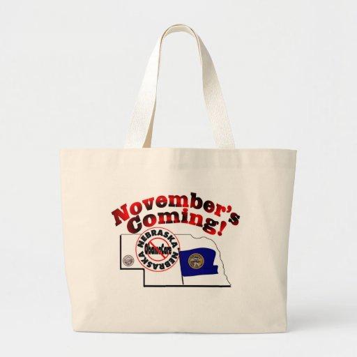 Nebraska Anti ObamaCare – November's Coming! Bag