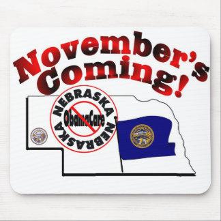 Nebraska Anti ObamaCare – November's Coming! Mousepad