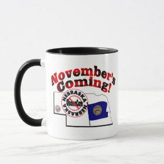 Nebraska Anti ObamaCare – November's Coming! Mug