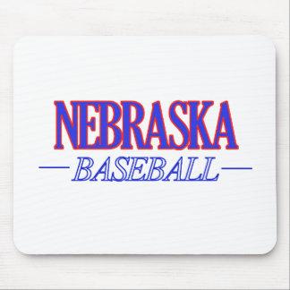 Nebraska baseball DESIGNS Mouse Pad