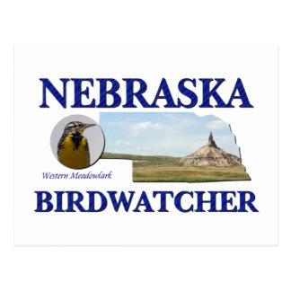 Nebraska Birdwatcher Postcard