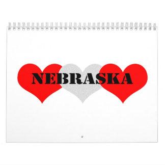 Nebraska Calendarios De Pared