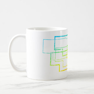 nebraska chill blur coffee mug