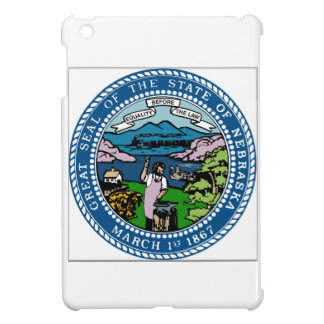 Nebraska Coat of Arms iPad Mini Covers