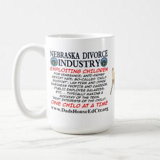 Nebraska Divorce Industry. Coffee Mug