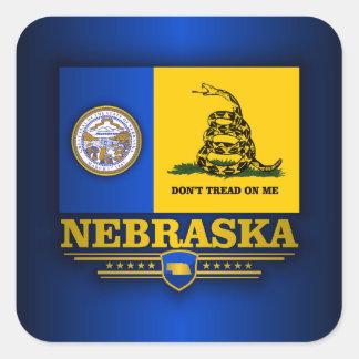 Nebraska (DTOM) Square Sticker