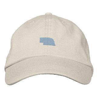 Nebraska Embroidered Hat