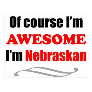 Nebraska es impresionante tarjeta postal