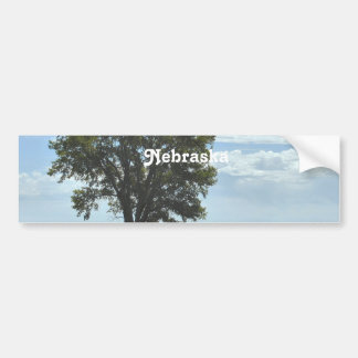 Nebraska Etiqueta De Parachoque