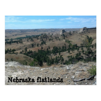 Nebraska flatlands (made ya look) postcard
