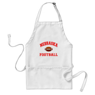 NEBRASKA FOOTBALL ADULT APRON