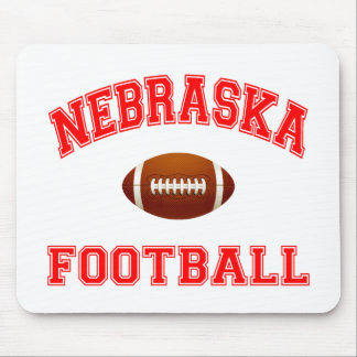 NEBRASKA FOOTBALL MOUSE PAD