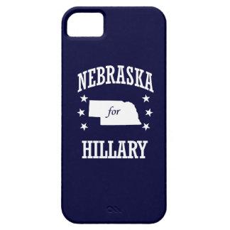 NEBRASKA FOR HILLARY iPhone 5 CASES
