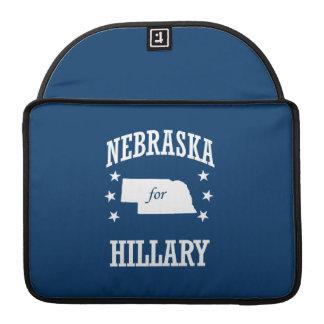 NEBRASKA FOR HILLARY MacBook PRO SLEEVE